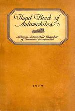 Hand Book of Automobiles - 1919 ONLINE